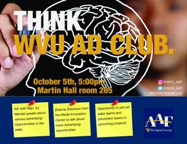 Ad Club flyer meeting