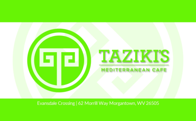 Taziki's Business Cards